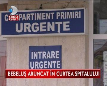 CUTREMURATOR! Bebelus DEVORAT DE ANIMALE gasit in curtea unui spital VIDEO