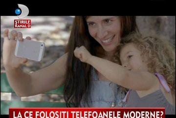 FITA SAU NECESITATE? Telefoanele de tip SMARTPHONE fac ravagii printre romani VIDEO