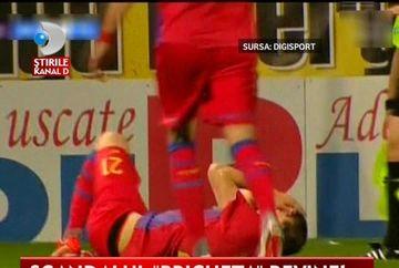 BATAIE intre suporteri IN CENTRUL BUCURESTIULUI inainte de inceperea meciului Rapid - Steaua VIDEO