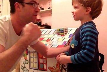 Si-a transformat fiul intr-un SAC DE BOX! Ce corectie SOCANTA a ales un tata sa-i aplice baietelului sau VIDEO