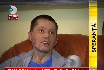 Explozia l-a MUTILAT, dar nu l-a invins! Ajuta-l pe Darius, unul dintre politistii raniti in deflagratia de la Sighetul Marmatiei sa se refaca VIDEO