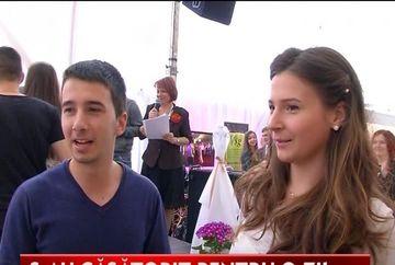 Zeci de cupluri au incercat de Dragobete casatoria pentru o zi VIDEO