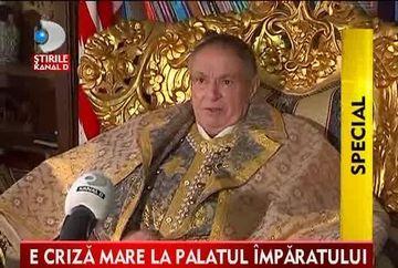 S-au dus vremurile bune! Pana mai ieri imparatul romilor se mandrea cu o coroana si un palat cu 30 de camere. Astazi insa SARACIA ii bate in poarta VIDEO