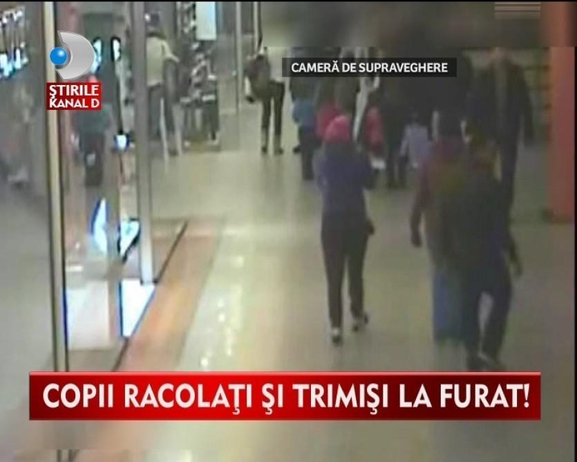 SOCANT! Minori obligati sa fure din centre comerciale VIDEO