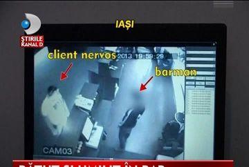 REVOLTATOR! Barman BATUT SI UMILIT de clienti VIDEO