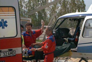 Eleva care a cazut de la etajul unei vile din Busteni a murit la spital VIDEO