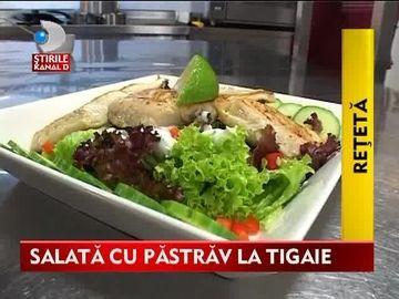 Pastrav la tigaie, un meniu din bucataria romaneasca VIDEO