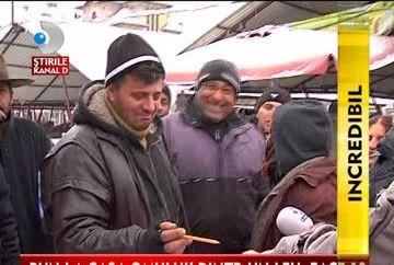 IMAGINI SPECTACULOASE! Morcovi care leviteaza intr-o piata din Sibiu VIDEO