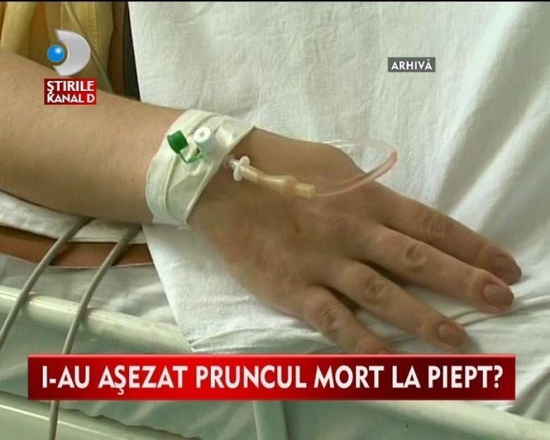 NEGLIJENTA. O tanara din Brasov acuza medicii de la maternitate ca i-au ucis bebelusul VIDEO