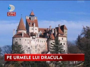 Il cauta pe Dracula! Realizatorii de la National Geographic au venit sa filmeze in Castelul Bran VIDEO