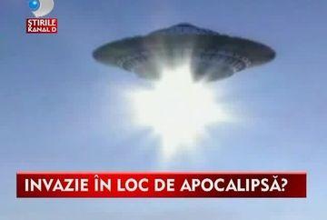 INVAZIE in loc de APOCALIPSA? Mai nou lumea nu se mai sfarseste de Craciun, ci vin extraterestrii VIDEO