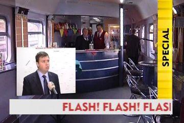 Poti avea doar pentru tine un tren integ! CFR calatori inchiriaza garnituri pentru oricine VIDEO