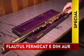 Ioan Bogdan Stefanescu detine o adevarata bijuterie de flaut unicat in intreaga lume VIDEO
