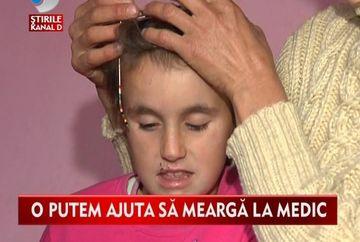 Andreea, o fetita cu grave deficiente de vedere, are nevoie de ajutorul nostru! VIDEO