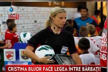 Femeia de care asculta toti barbatii! Cristina Bujor, cel mai tanar arbitru roman de pe lista FIFA VIDEO
