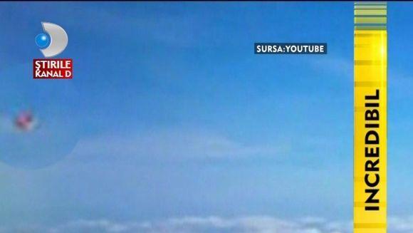 OZN-ul care a ingrozit un pasager dintr-un avion! Crezi ca e real? VIDEO