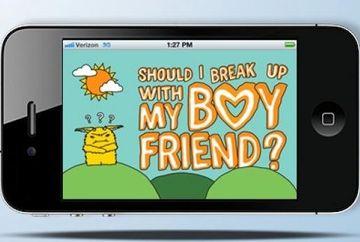 Ai lasa o aplicatie de telefon sa decida mersul relatiei tale?