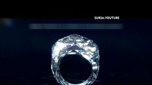 A aparut primul inel facut integral din diamant! Afla cat costa VIDEO