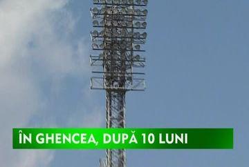 Steaua revine in Ghencea dupa 10 luni VIDEO