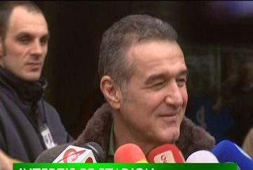"""Gigi Becali: """"Borcea vrea pe stadion, dar i-am zis medicului sa ii faca un somnifer"""""""