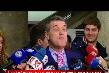Gigi Becali vrea sa sa le dea o lectie procurorilor VIDEO