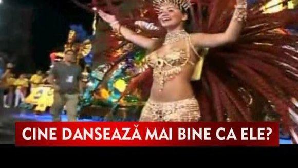 Explozie de culoare la Carnavalul de la Rio!VIDEO