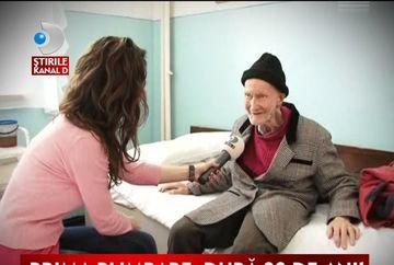 Incredibil! Un batran locuieste de 80 de ani intr-un spital VIDEO