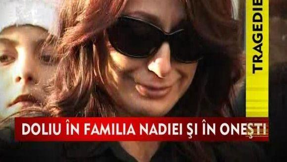 Nadia isi plange tatal! VIDEO