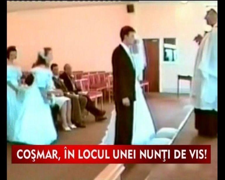 Nunta de cosmar pentru doi tineri VIDEO