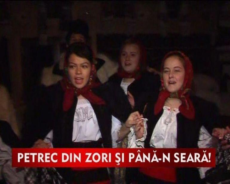 Bucovinenii stiu reteta petrecerilor fara odihna VIDEO