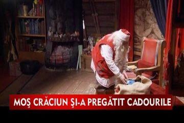 Mos Craciun, pe ultima suta de metri cu pregatirea cadourilor VIDEO