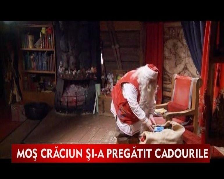 Mos Craciun, pe ultima suta de metri cu pregatirea cadourilor1VIDEO
