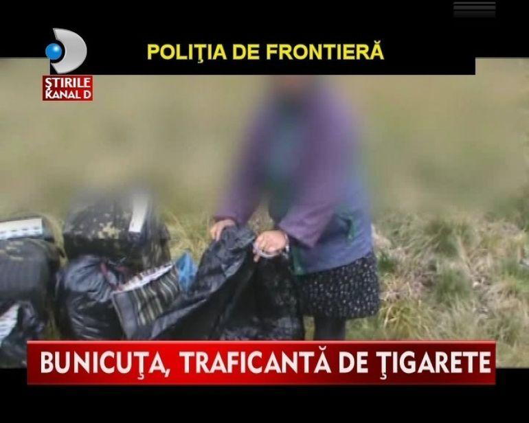 INCREDIBIL! O batranica prinsa in flagrant in timp ce facea trafic de tigari