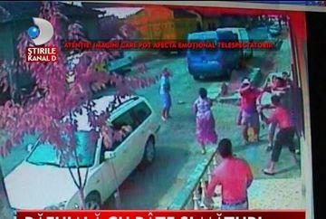Bataie in plina strada intre doua clanuri rivale de romi