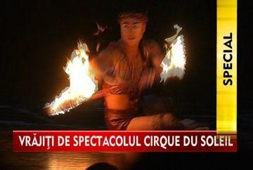 "Seara magica! Artistii ""Cirque de Soleil"" au impresionat cu sute de costume si acrobatii"