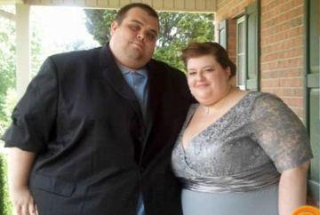 TRANSFORMARE IREALA! Cum a reusit un cuplu de obezi sa slabeasca 300 kg in doar un an si jumatate