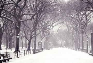 VREMEA pana pe 8 decembrie. Cand va ninge in fiecare regiune a tarii