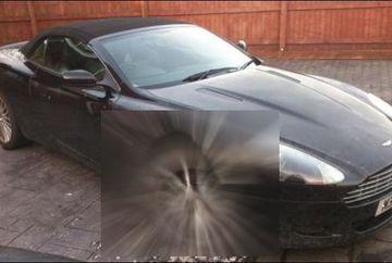 REACTIA unui colectionar de masini cand si-a gasit bolidul de lux vandalizat