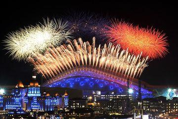 JOCURILE OLIMPICE de iarna: Festivitatea de deschidere in IMAGINI