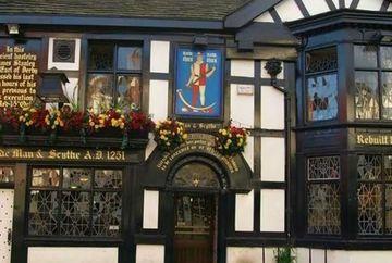 Aparitie infricosatoare intr-un bar vechi de 750 de ani din Marea Britanie!