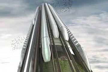 Cum ar putea arata metroul viitorului. Un nou concept propune statii verticale pana in 2075