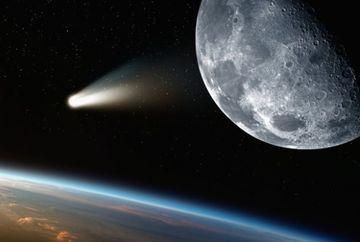 """Peste cateva zile, coada cometei Halley va """"lovi"""" Pamantul! Spectacol in toata regula pe cer"""