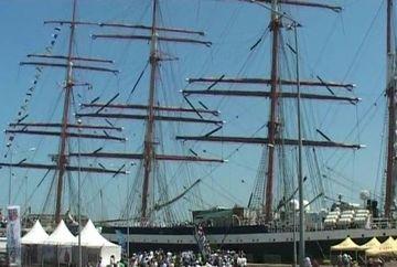 Marinarii au invadat strazile din Constanta intr-o parada de zile mari!