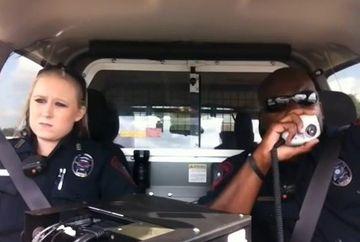 Au pus o camera ascunsa in masina pentru ca au vrut sa stie ce fac politistii cand patruleaza. Imaginile surprinse i-au SOCAT!