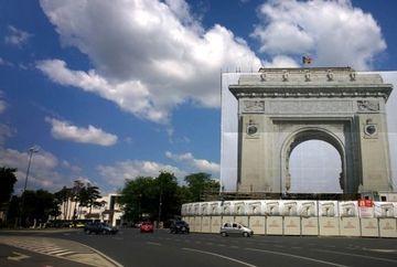 Uite cum va arata Arcul de Triumf dupa modernizare! Va rezista la un cutremur de 9 grade
