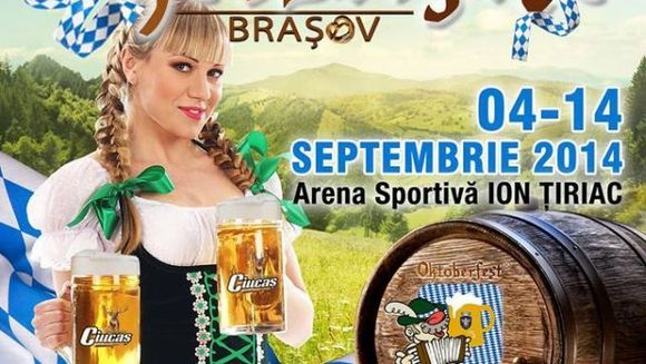 Vino la Oktoberfest! Brasovul se imbraca in costum bavarez intre 4 si 14 septembrie