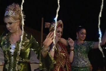 Nunta mare intr-un cartier din Medgidia! Mireasa, imbracata ca o adevarata sultana din Suleyman Magnificul