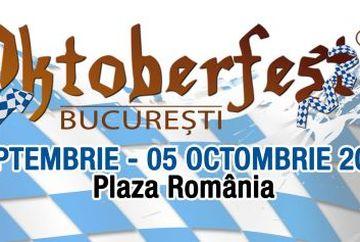 Esti gata de distractie? Oktoberfest Bucuresti incepe pe 25 septembrie, la Plaza Romania