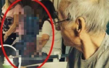 A vrut o ultima amintire si si-a fotografiat bunicul bolnav de CANCER in faza terminala! A INGHETAT cand a vazut poza pe calculator. Nu o sa crezi ce a patit batranul DUPA