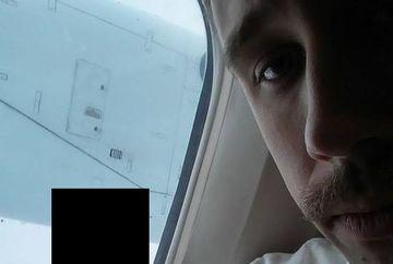 """INFRICOSATOR: A INGHETAT cand s-a uitat pe geam si a vazut ASTA, foarte aproape de el! """"Nu mai merg NICIODATA cu avionul!"""""""